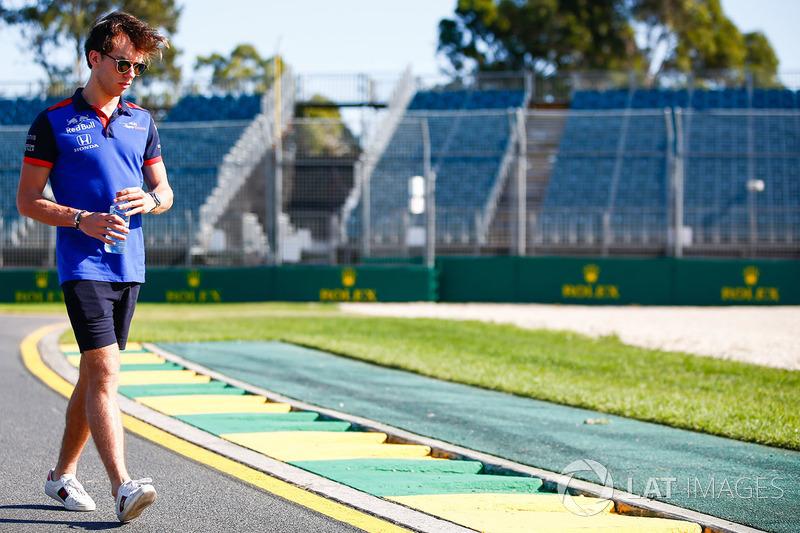 Giro di pista per Pierre Gasly, Scuderia Toro Rosso