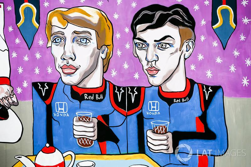 Гран Прі Азербайджану: малюнок Брендона Хартлі, П'єра Гаслі, Scuderia Toro Rosso