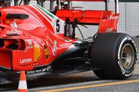 Ferrari SF71H, dettaglio posteriore