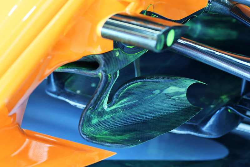 McLaren MCL33 technical detail