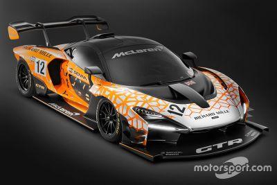 McLaren Senna GTR Concept unveil