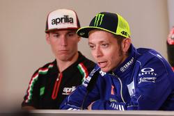 Aleix Espargaro, Aprilia Racing Team Gresini, Valentino Rossi, Yamaha Factory Racing
