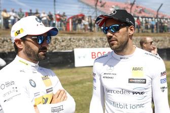 Timo Glock, BMW Team RMG, Gary Paffett, Mercedes-AMG Team HWA