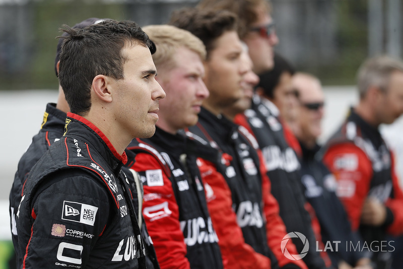Robert Wickens, Schmidt Peterson Motorsports Honda and crew