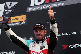 Podium: Jean-Karl Vernay, Leopard Lukoil Team Audi RS3 LMS TCR