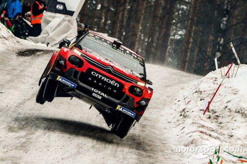 Esapekka Lappi, Janne Ferm, Citroen World Rally Team Citroen C3 WRC