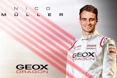 Nico Müller Dragon Racing bejelentés