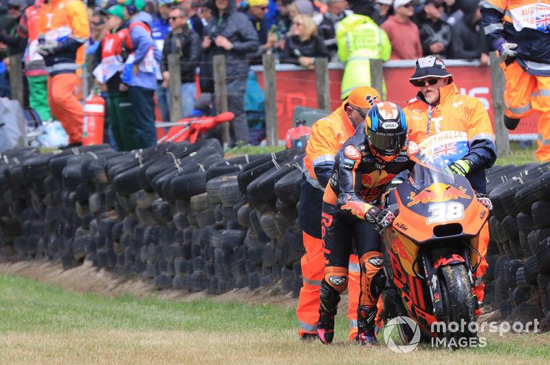Бредлі Сміт, Red Bull KTM Factory Racing, після аварії
