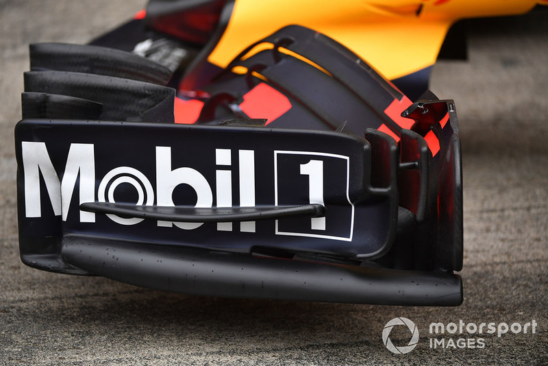 Переднее крыло Red Bull RB14