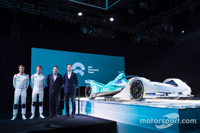 Tom Dillmann, Oliver Turvey, NIO Formula E Team launch