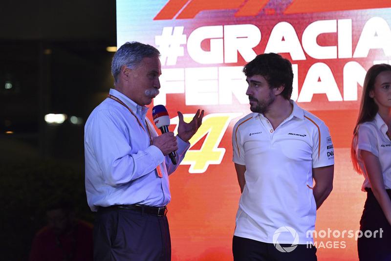 Керівник Ф1 Чейз Кері, Фернандо Алонсо, McLaren