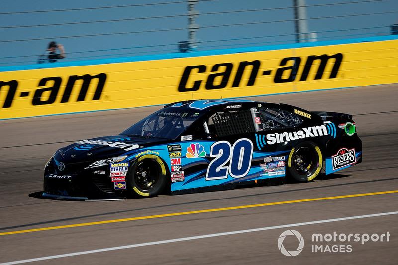 7. Erik Jones, Joe Gibbs Racing, Toyota Camry Sirius XM