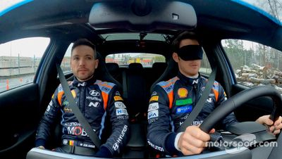 Hyundai Motorsport Blindfold Challenge