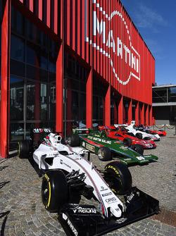 Williams FW38 und Martini Klassikersammlung