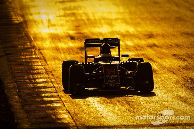 1. Fernando Alonso, McLaren MP4-31