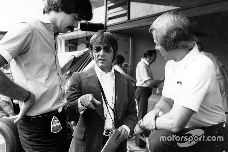 Bernie Ecclestone avec Gordon Murray