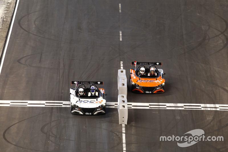 David Coulthard y Tom Kristensen en el Vuhl 05 RoC Edition
