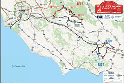 Mappa prove speciali ERC e CIR