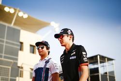 Felipe Massa, Williams, and Sergio Perez, Force India