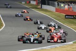 Lewis Hamilton, Mercedes F1 W08 en tête au départ