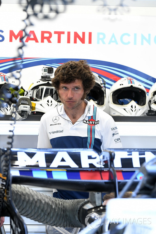 Guy Martin, Williams