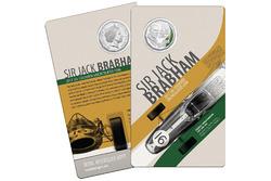 Sir Jack Brabham, Gedenkmünze der Royal Australian Mint
