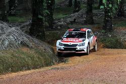 Gaurav Gill, Stéphane Prévot, Skoda Fabia R5, Team MRF