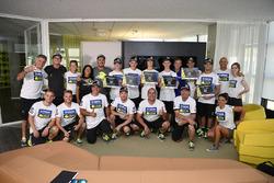 Les participants à la quatrième édition du Yamaha VR46 Master Camp.