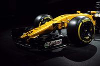 Renault Sport F1 Team RS17 ön kanat detay