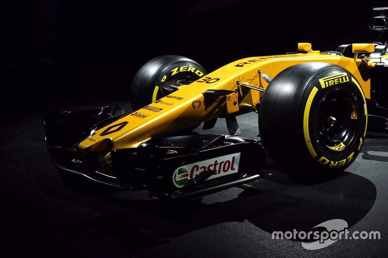 Renault RS17: Frontflügel