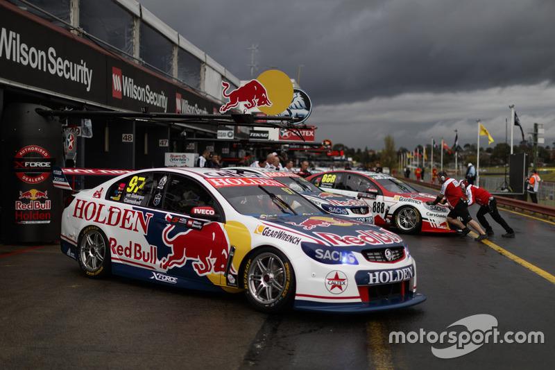 Shane van Gisbergen, Matt Campbell, Triple Eight Race Engineering Holden