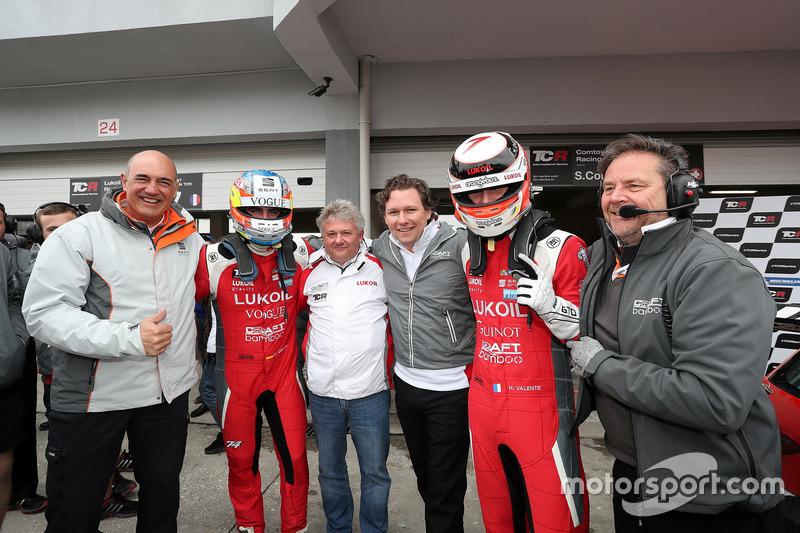 Pepe Oriola, Lukoil Craft-Bamboo Racing, SEAT León TCR e Hugo Valente, Lukoil Craft-Bamboo Racing, S