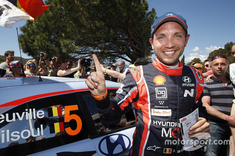 Winner Nicolas Gilsoul, Hyundai Motorsport