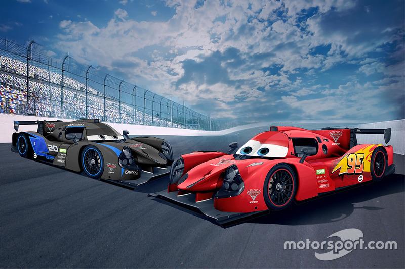 #20 Craft Bamboo Racing Ligier JS P3, #95 Craft Bamboo Racing Ligier JS P3