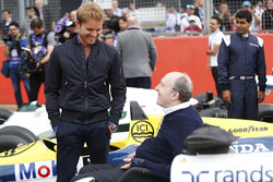 Nico Rosberg parla con Sir Frank Williams