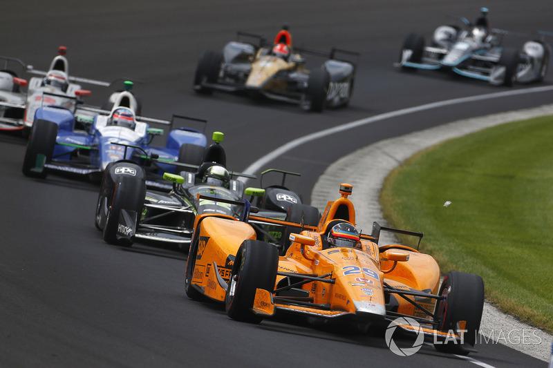 Fernando Alonso, McLaren-Honda-Andretti Honda