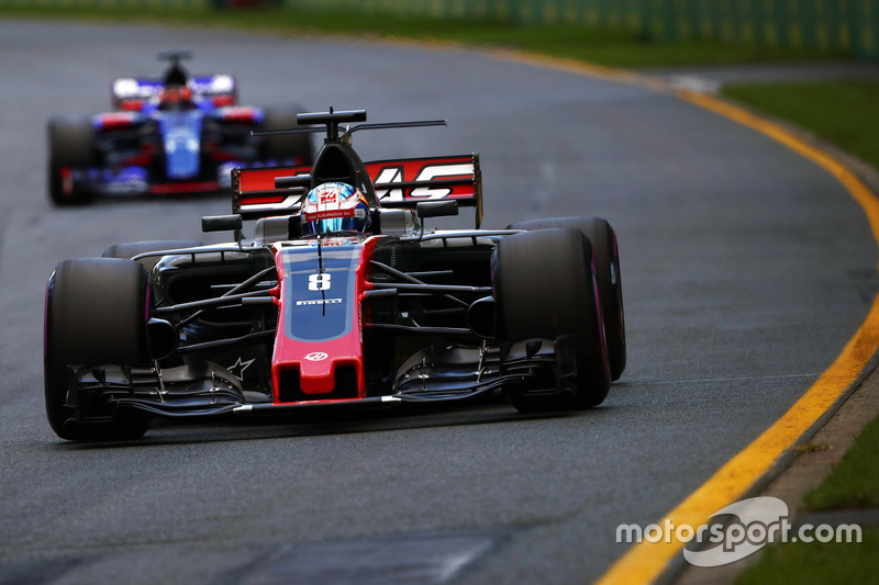 Ausfall: Romain Grosjean, Haas F1 Team