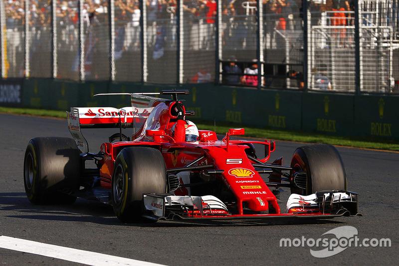 Formula 1 Fotogallery: la vittoria della Ferrari