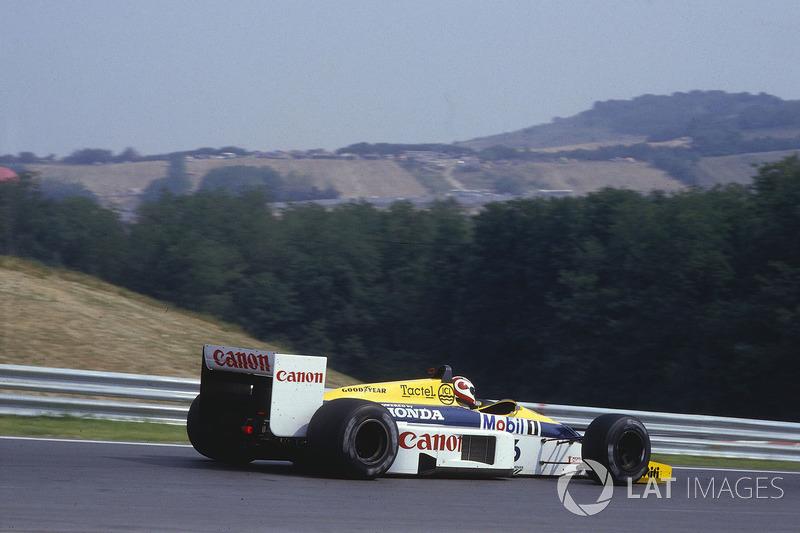 1986: Titelkandidat mit Williams