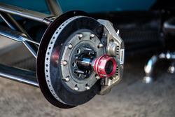 Bremse eines Formel-E-Autos