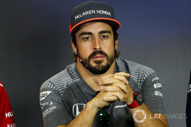 Фернандо Алонсо, McLaren – за