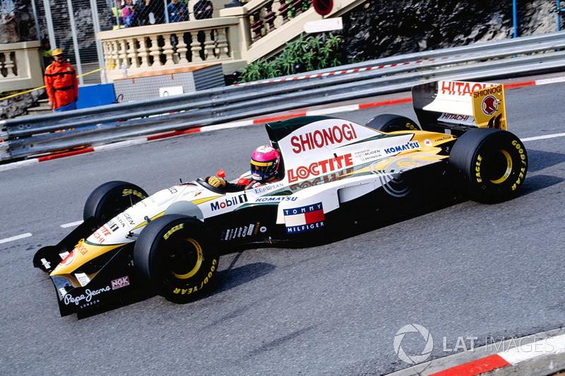 Педро Лами (в Ф1 – 1993-1996, 32 Гран При, одно очко)