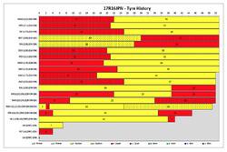 Japanese GP tyre history report