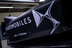 DS Virgin Racing, detail van de zijkant