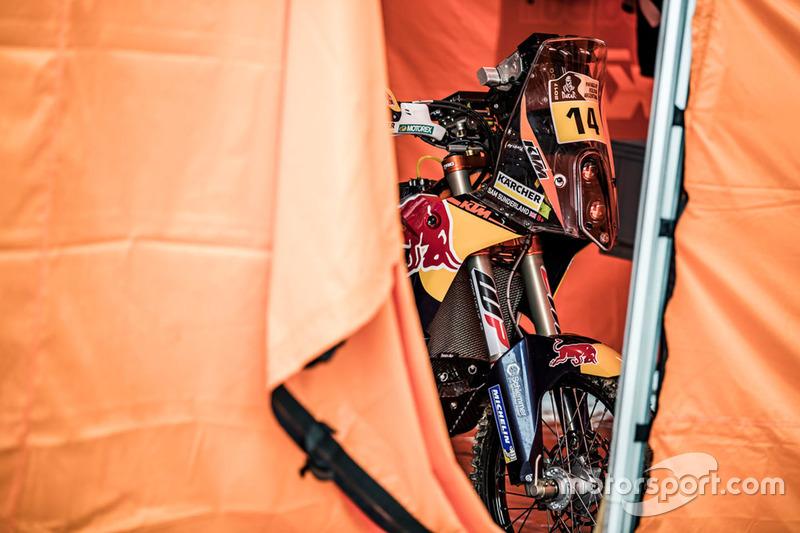 Moto de #14 Red Bull KTM Factory Racing: Sam Sunderland