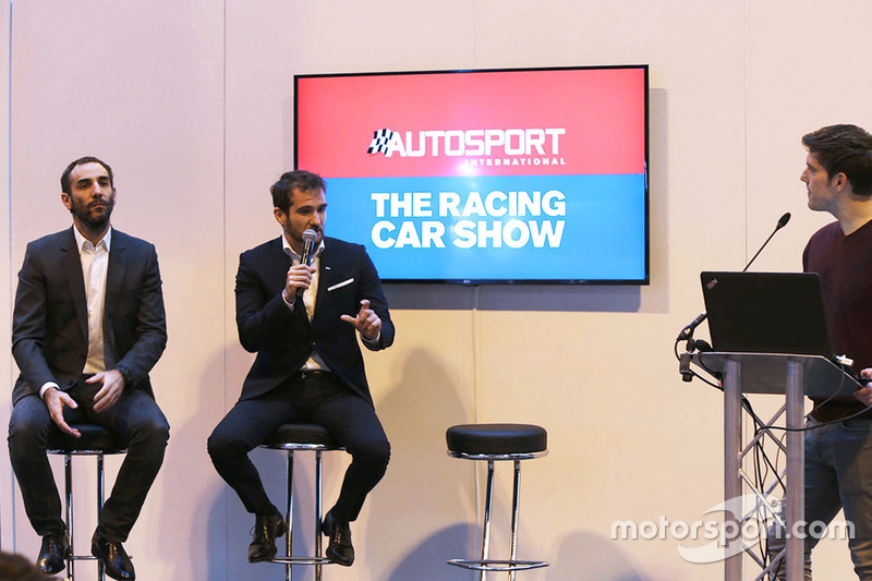 Cyril Abiteboul, Gerente director de Renault Sport F1 Team, Tommaso Volpe, Director Global de Infiniti de automovilismo