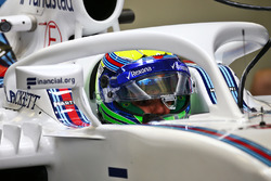 Felipe Massa, Williams FW38, Halo kokpit ile