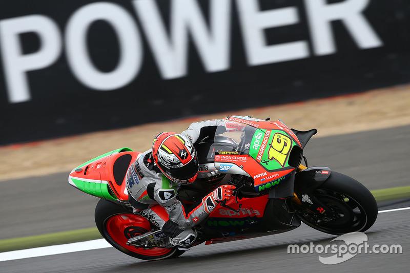 10. Alvaro Bautista, Aprilia Racing Team Gresini