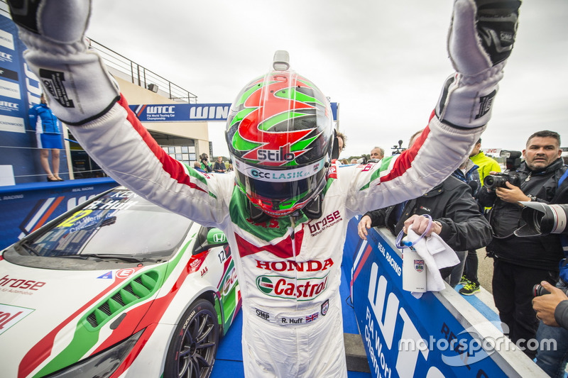 Sieger Rob Huff, Honda Racing Team JAS, Honda Civic WTCC