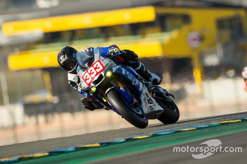 #333 Yamaha: Axel Maurin, Nicolas Salchaud, Olivier Depoorter, Johan Nigon